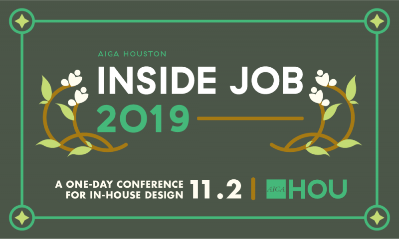 Inside Job 2019: A One-day Conference for In-house Design
