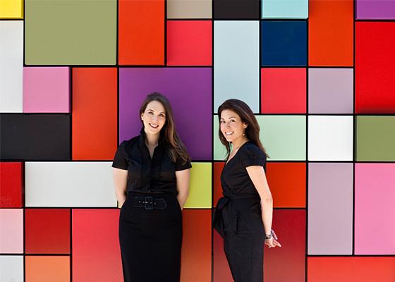 Allyson Lack & Pamela Zuccker photo by Julie Soefer