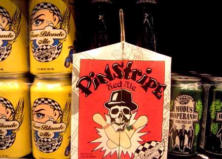 Pinstripe Beer