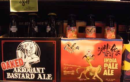 Oaked Beer Bottles