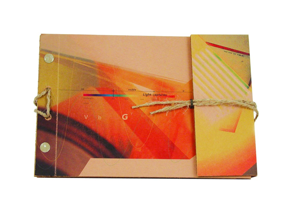 Edmee Micheli | Light Captures Sleeve Journal, UH Graphic Communications 2003