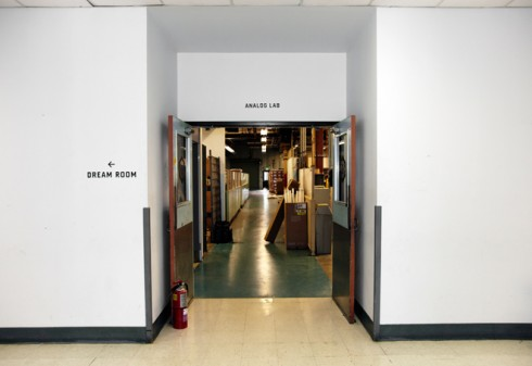 Entrance to the Analog Research Laboratory, image courtesy of wired.com