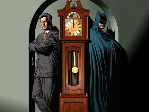 Bruce Wayne and Batman, image courtesy of comixzone.cz