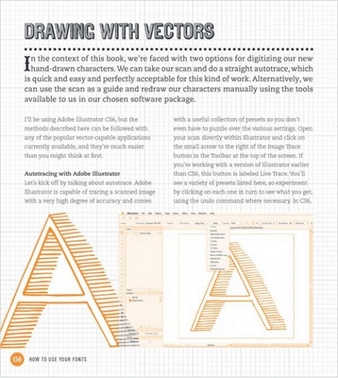 Drawing with Vectors, image courtesy of designworklife.