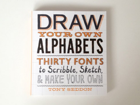 Draw Your Own Alphabets cover, image courtesy of Mint Design Blog.