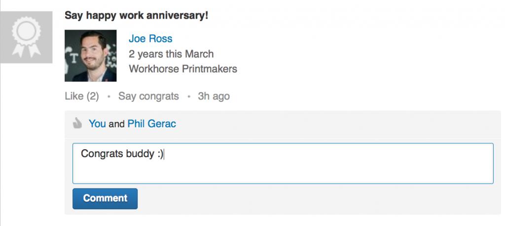 LinkedIn_Congratulate
