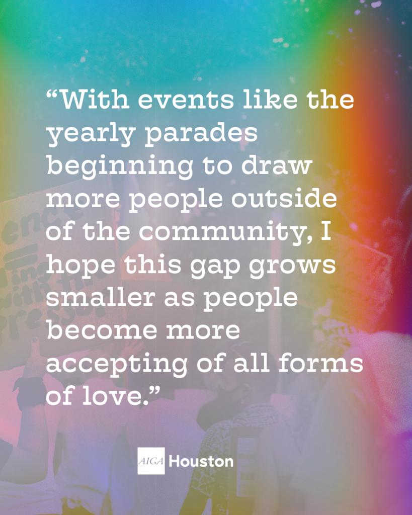 Michelle Kruschik Pride Quote